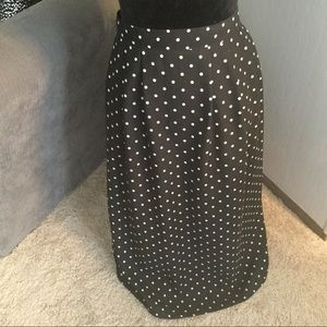 Sag Harbor Woman Other - Black/white polka dots Skirt Set